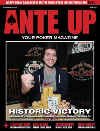 Ante Up Magazine - April 2011 Issue