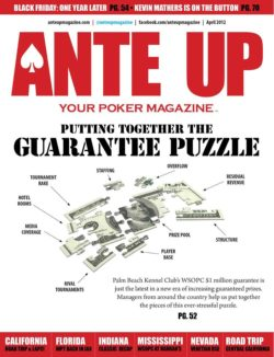 Ante Up Magazine - April 2012 Issue