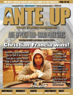 Ante Up Magazine - August 2015 Issue
