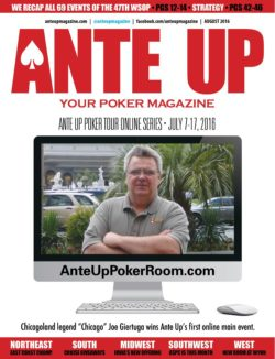 Ante Up Magazine - August 2016 Issue