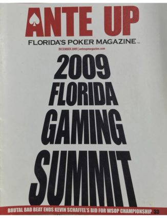 Ante Up Magazine - December 2009 Issue