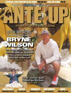 Ante Up Magazine - December 2016 Issue