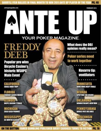 Ante Up Magazine - February 2012 Issue