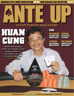 Ante Up Magazine - January 2013 Issue