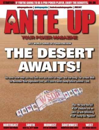Ante Up Magazine - June 2017 Issue
