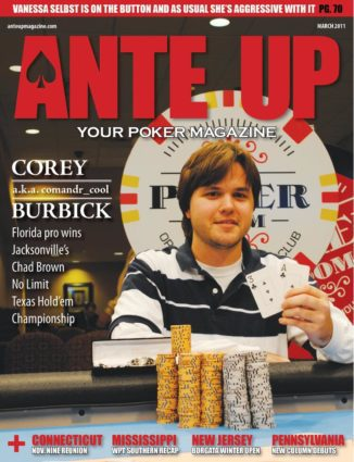 Ante Up Magazine - March 2011