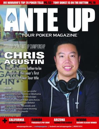 Ante Up Magazine - March 2014 Issue