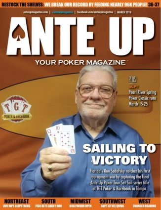 Ante Up Magazine - March 2018 Issue