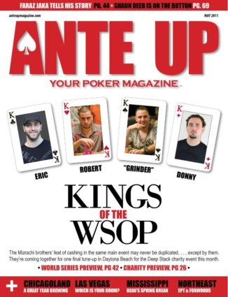 Ante Up Magazine - May 2011 Issue
