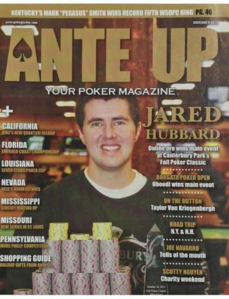 Ante Up Magazine - November 2011 Issue