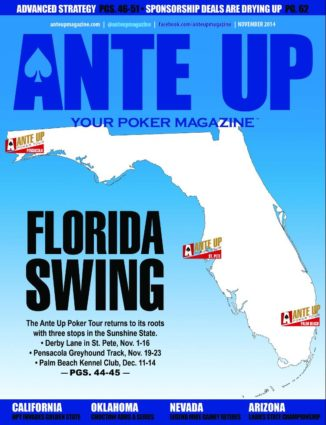 Ante Up Magazine - November 2014 Issue