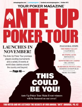 Ante Up Magazine - October 2012 Issue