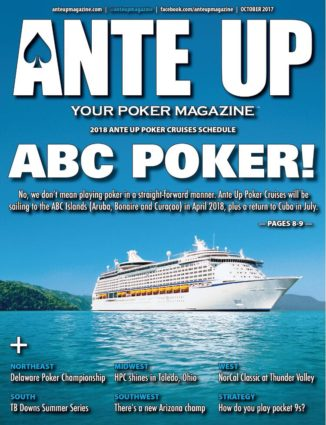 Ante Up Magazine - October 2017 Issue