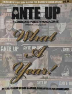 Ante Up Magazine - September 2009 Issue
