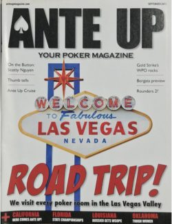 Ante Up Magazine - September 2011 Issue