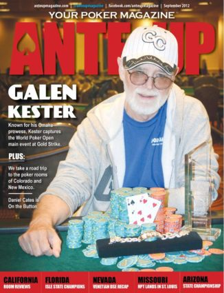 Ante Up Magazine - September 2012 Issue