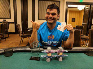 Ivan Zarate-Terrazas wins Event #18 of Ante Up Poker Tour at Atlantis