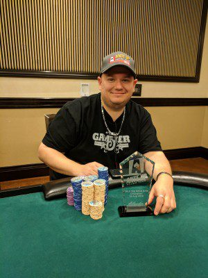 Paul Sampson wins Event #5 of Ante Up Poker Tour at Atlantis