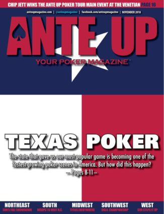 Ante Up Magazine - November 2018