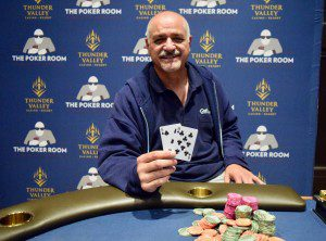 Ante Up Magazine Albert Sanchez wins Event #14 of the Ante Up World Championship