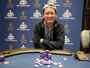 Ante Up Magazine Norman Yeung win Event #17 of the Ante Up World Championship