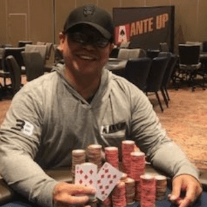 Ante Up Magazine Rolando Barron wins Event #21 of the Ante Up World Championship
