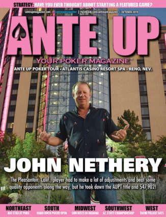 Ante Up Poker Magazine - October 2019