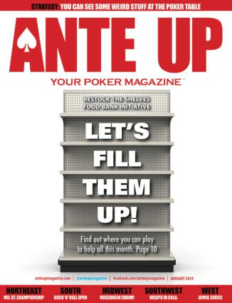 Ante Up Poker Magazine January 2020 issue